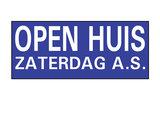 Opzetruiter openhuis as zaterdag