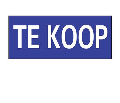 Opzetruiter TE KOOP